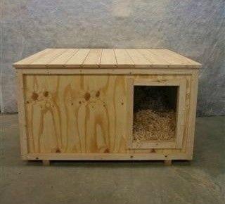 Byg selv isoleret hundehus